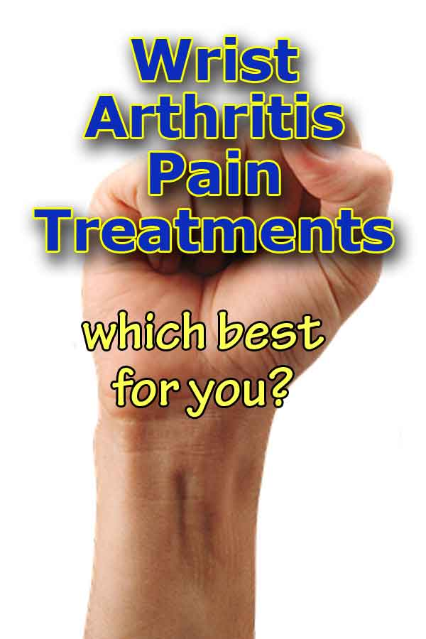 wrist arthritis treatment